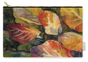 Leaves On A Pond Carry-all Pouch