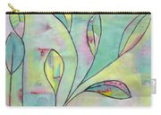 Leaves On Abstract Background Carry-all Pouch