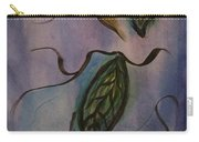 Leaves On Silk Carry-all Pouch