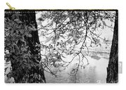 Leaves Over The River Carry-all Pouch