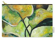 Leaves2 Carry-all Pouch by Chris Steinken
