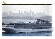 Diamond Princess Leaving Sydney Carry-all Pouch