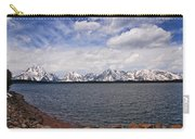 Leaving The Grand Tetons Carry-all Pouch