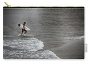 Leaving The Surf Carry-all Pouch