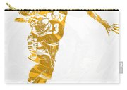 Lebron James Cleveland Cavaliers Pixel Art 14 Carry-all Pouch