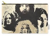Led Zeppelin Autographed Album  Carry-all Pouch