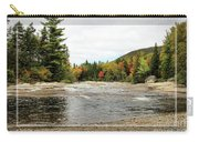 Ledge Falls Hollow, Framed Carry-all Pouch