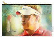 Lee Westwood Winning The Portugal Masters 2009 Carry-all Pouch