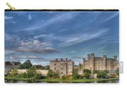 Leeds Castle And Moat Rear View Carry-all Pouch