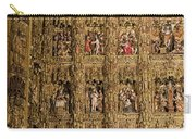 Left Half - The Golden Retablo Mayor - Cathedral Of Seville - Seville Spain Carry-all Pouch