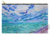 Left Panel Of Triptych Busy Relaxing Carry-all Pouch
