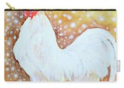 Leghorn Rooster Do The Funky Chicken Carry-all Pouch