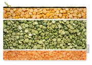 Legumes Triptych Carry-all Pouch