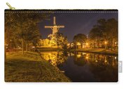 Leiden Windmill By Night Carry-all Pouch