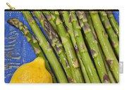 Lemon And Asparagus  Carry-all Pouch