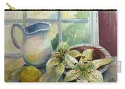 Lemon And Lillies Carry-all Pouch
