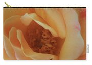 Lemon Blush Rose Carry-all Pouch