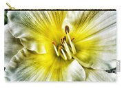 Lemon Cream Daylilly Carry-all Pouch