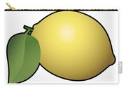 Lemon Fruit Outlined Carry-all Pouch
