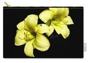 Lemon Lilies Carry-all Pouch