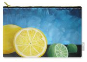Lemon Lime Carry-all Pouch
