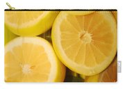 Lemon Still Life Carry-all Pouch