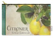 Lemon Tree - Citronier Citrus Limonum Carry-all Pouch