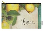 Lemon Tree - Limone Citrus Medica Carry-all Pouch