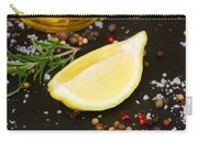 Lemon With Spices  Carry-all Pouch