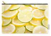 Lemons And Limes Abstract Carry-all Pouch