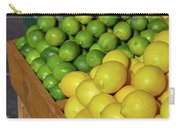 Lemons And Limes At Market Carry-all Pouch