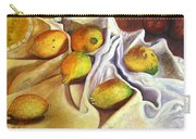 Lemons And Linen Carry-all Pouch