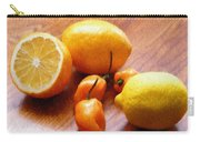 Lemons And Peppers Carry-all Pouch