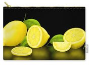 Lemons-black Carry-all Pouch