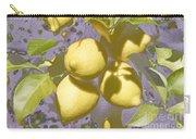 Lemons Purple Pastel Carry-all Pouch