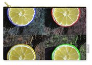 Lemons Carry-all Pouch by Rob Hawkins