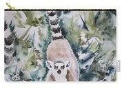 Lemur Catta Carry-all Pouch
