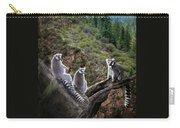 Lemur Family Carry-all Pouch