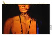 Lenape Chief Carry-all Pouch