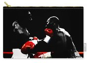 Lennox Lewis And Evander Holyfield  Carry-all Pouch