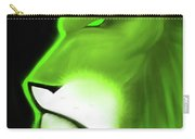 Leo Profile- Lime Carry-all Pouch