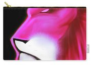 Leo Profile- Radiant Hot Pink Carry-all Pouch