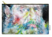 Leo Tolstoy - Watercolor Portrait.6 Carry-all Pouch