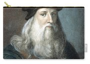 Leonardo Da Vinci - To License For Professional Use Visit Granger.com Carry-all Pouch