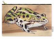 Leopard Frog No 1 Carry-all Pouch