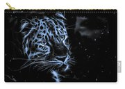 Leopard In The Darkness.  Carry-all Pouch