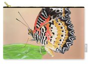 Leopard Lacewing Butterfly #2 V2 Carry-all Pouch