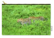 Leopard On The Move Carry-all Pouch