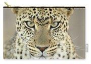 Leopard Panthera Pardus Female Carry-all Pouch