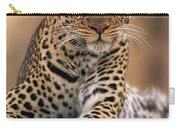 Leopard Panthera Pardus, Masai Mara Carry-all Pouch